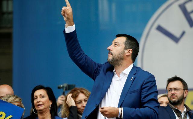 Voditelj Lige zelo dobro ve, da se je z njegovo zmago na evropskih volitvah spremenilo vse – in da nič več ne bo kot prej. FOTO:Reuters