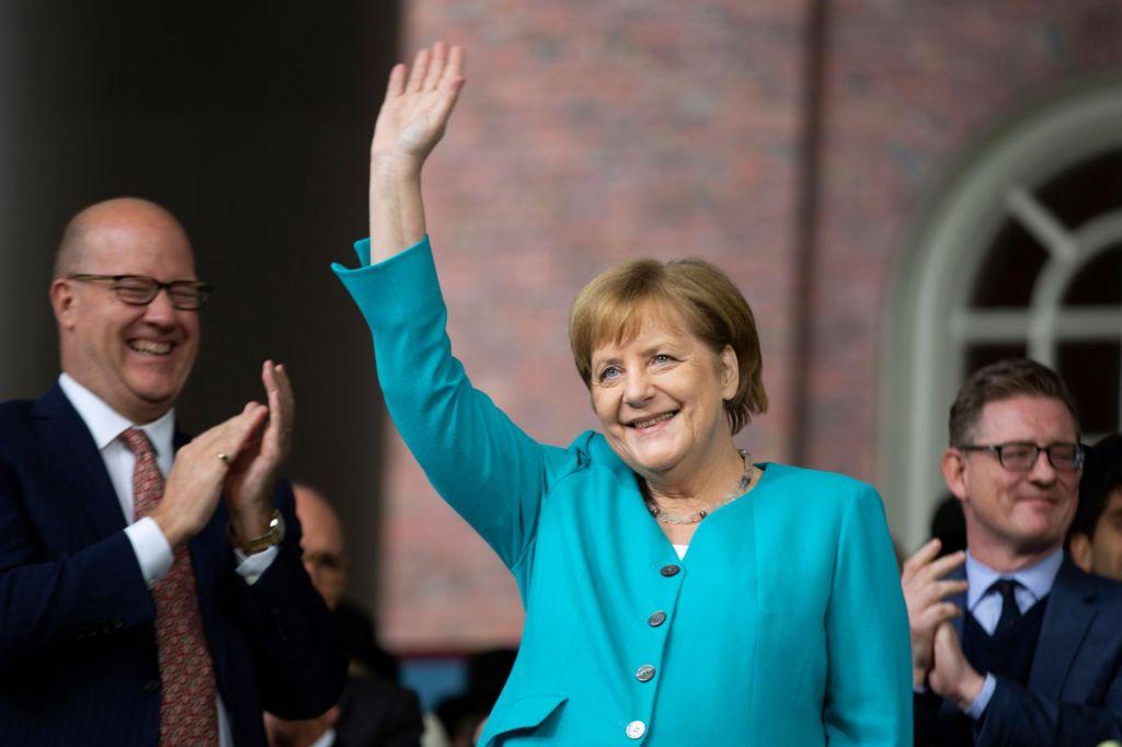 FOTO:Angela Merkel za multilateralnost, Donald Trump s carinami grozi Mehiki