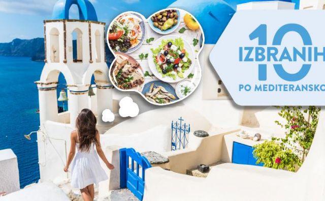 Mediteranski način prehranjevanja je zdrav in uravnotežen. Foto: SPAR Slovenija