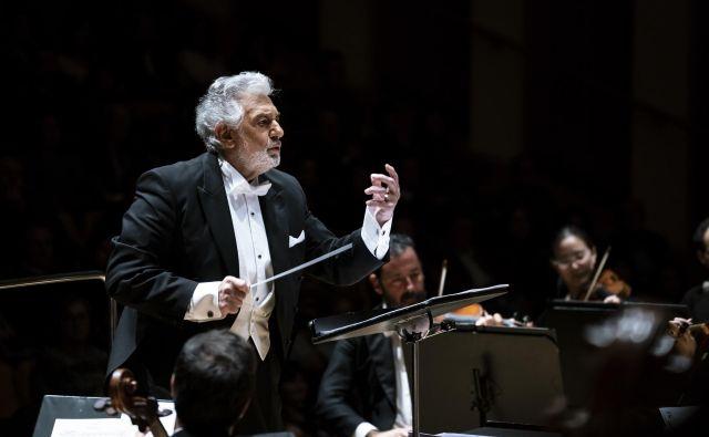 Aprila je Domingo slavil štiritisoči pevski nastop. Dirigentskih ni prištel. Foto Pedro Walker
