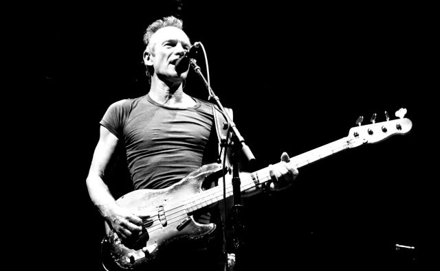 Sting bo predstavil album <em>My Songs</em>.<br /> FOTO: Arhiv organizatorja