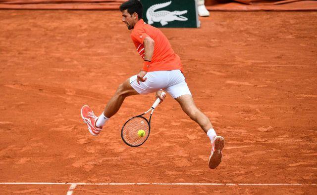 Novak Đoković je zlahka opravil s prvimi štirimi tekmeci, nobenemu ni oddal več kot osem iger. FOTO: AFP