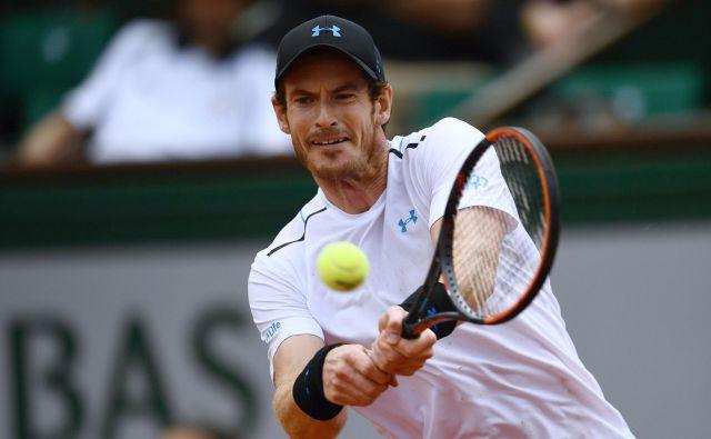 Andy Murray naj bi sredi meseca nastopil na turnirju v Queen'su. FOTO AFP