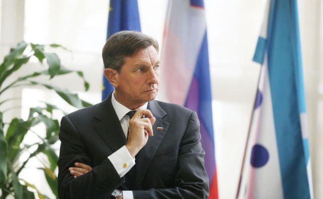 Gostitelj vrha Pobude treh morij bo predsednik republike Borut Pahor. FOTO: Leon Vidic/Delo