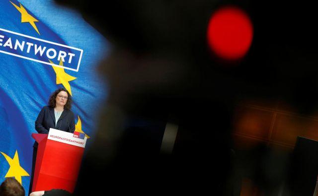SPD ni nikoli ni znala prodati svojih uspehov volivcem.Foto: Fabrizio Bensch/Reuters
