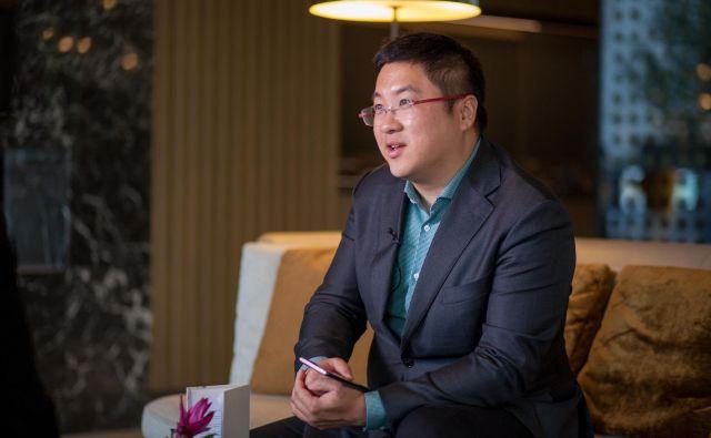 Doslej ni še nihče pokazal, da dela Huawei kaj narobe, pravi Zhe Zhang. Foto Huawei