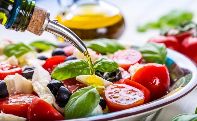 Sredozemska hrana je raznolika, sveža, lahka in okusna, za povrh pa zmanjšuje tveganje za bolezni srca in ožilja. FOTO Shutterstock
