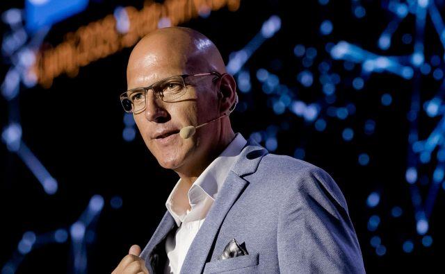 »Veliko podjetij vlaga v tehnologije, manj pa v nove ideje,« pravi Mark Raben. FOTO: SAP