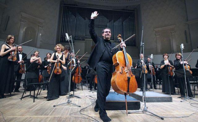 Dirigent Aleksander Rudin in orkester Musica Viva<br /> Foto arhiv Festivala Ljubljana
