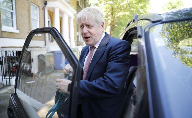 Boris Johnson meri na najvišji položaj v britanski politiki. FOTO: AFP