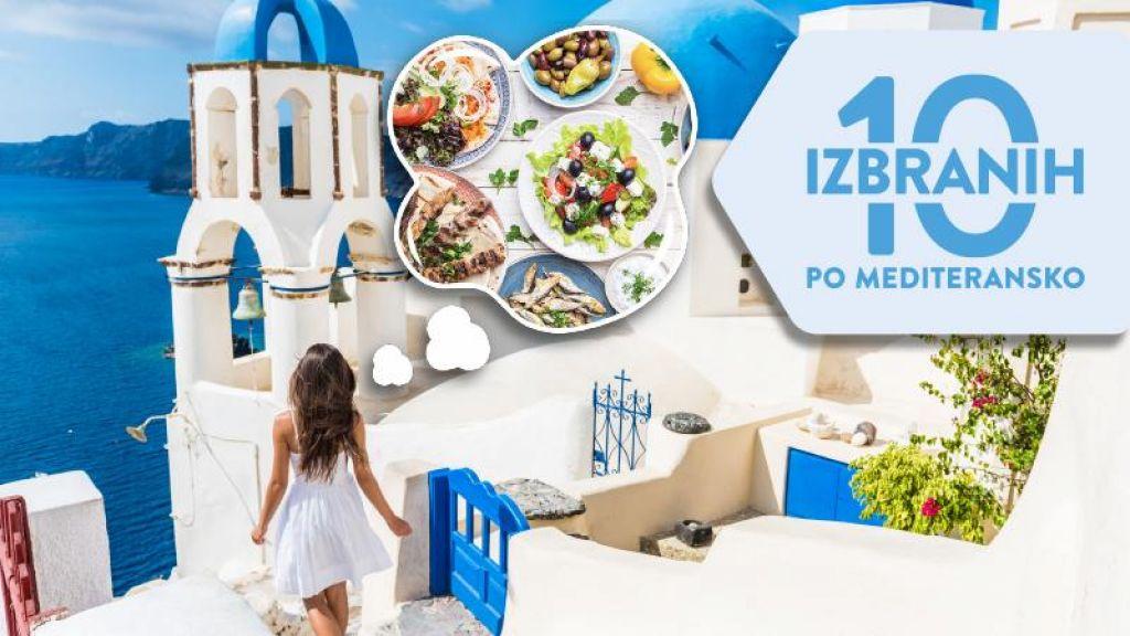Živahni okusi so doma na Mediteranu