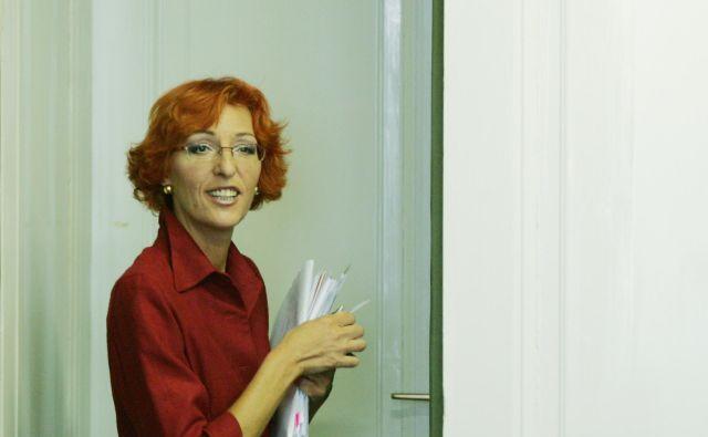 Polonca Dobrajc naj bi zaradi posledic trpinčenja na pravobranilstvu trpela za depresijo in anksioznostjo. FOTO: Aleš Černivec/Delo