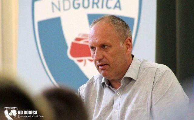 Hari Arčon je po jesenskem delu sezone odslovil trenerja Milana Srebrniča. FOTO: ND Gorica