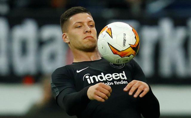 Luka Jović je dosegel 27 golov v sezoni 2018/19. FOTO: Reuters