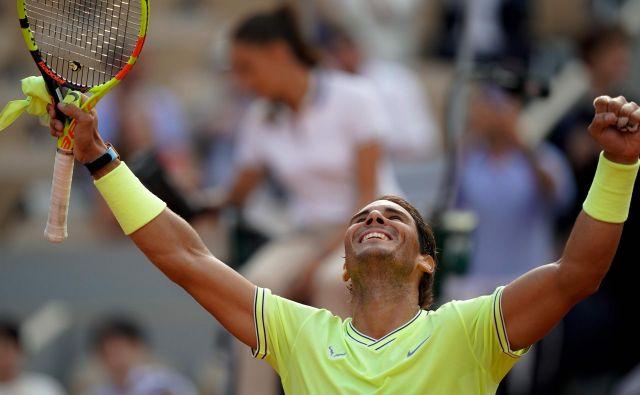 Rafael Nadal se je ekspresno prebil v polfinale. FOTO: AFP