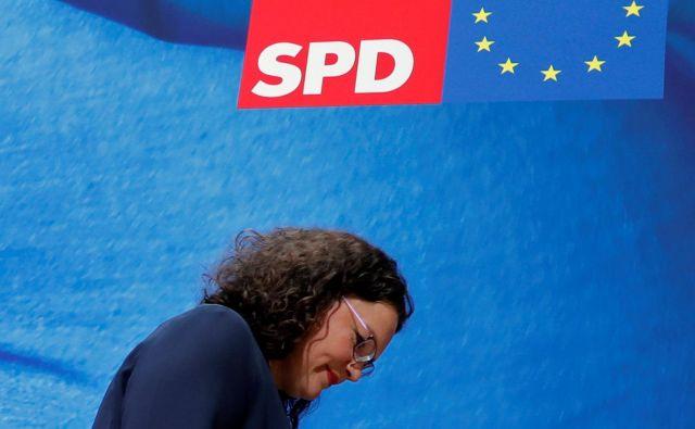 Po odstopu Andree Nahles so vsi kandidati zavrnili možnost prevzema SPD.Foto: Fabrizio Bensch/Reuters