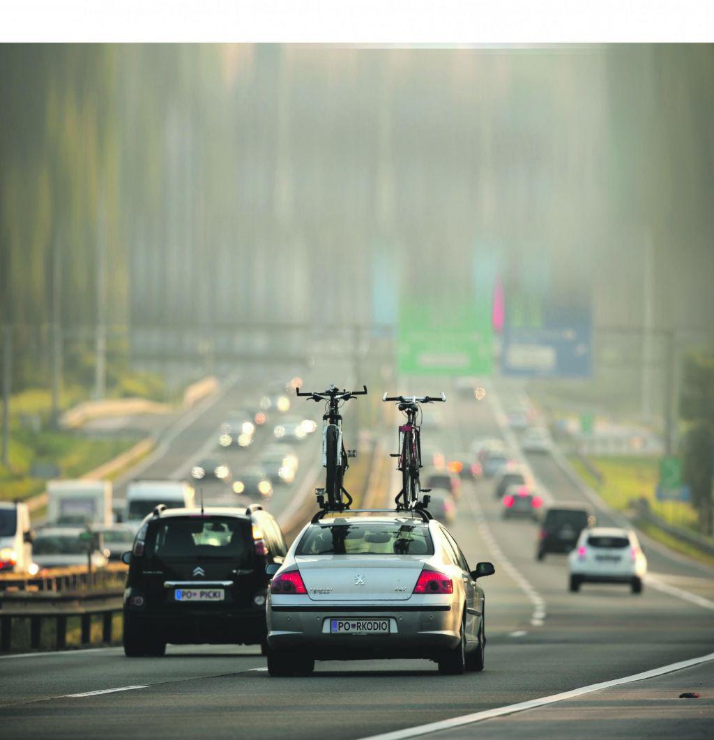 Gradbišča na avtocestah ostajajo nujno zlo