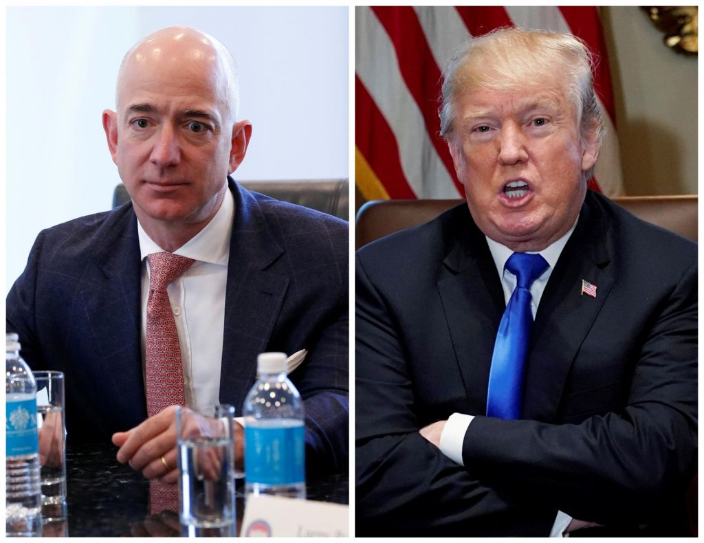 Nov Trumpov udarec Jeffu Bezosu?
