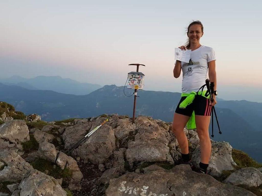 Katja Kegl Vencelj, poročena s tekom. In tekačem