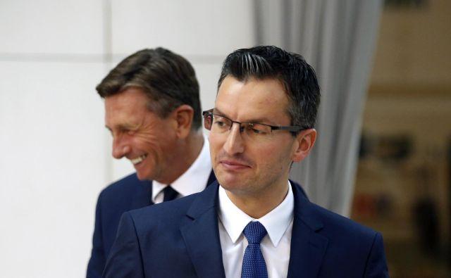 Marjan Šarec je poudaril, da sta Slovenija in ZDA strateški partnerici ter zaveznici v Natu. FOTO: Matej Družnik/Delo