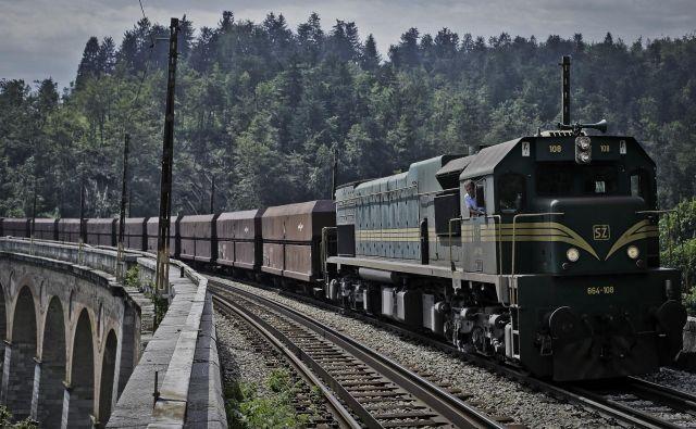 Železnica je ključna hrbtenica čistega prometa. FOTO: Jože Suhadolnik/Delo