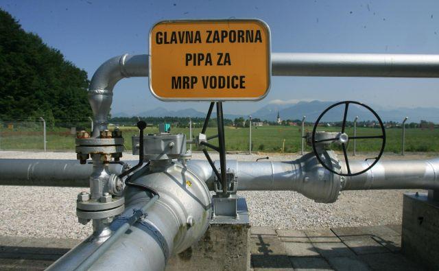 Od kod bo prišel plin v slovenske plinovode? FOTO: Uroš Hočevar/Delo