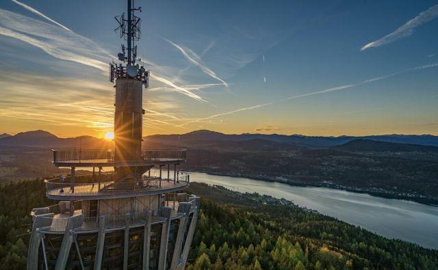 Ob obisku Vrbskega jezera se povzpnite še na Pyramidenkogel. Foto: Gert Steinthaler