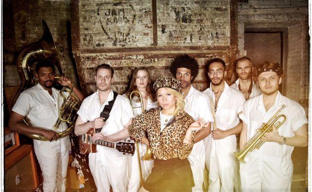 Brass Against so uporniški glasbeniki. Foto Arhiv Organizatorja