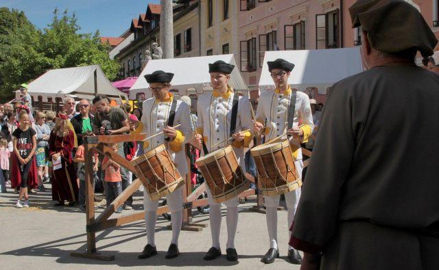 Med osrednjimi junijskimi prireditvami v Škofji Loki bo tudi Historial. FOTO: Marko Pleško