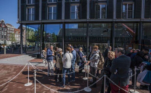 Hiša Ane Frank v Amsterdamu. FOTO: Cris Toala Olivares