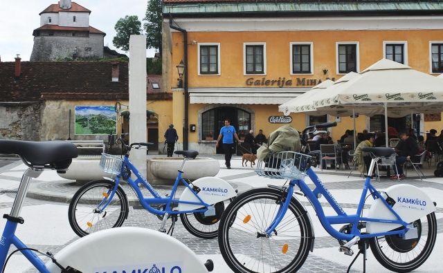 Električna kolesa za vožnjo po Kamniku z okolico. FOTO: Občina Kamnik
