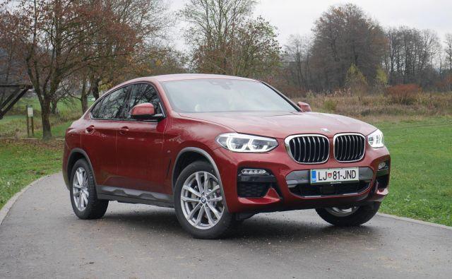 Ni kupe, ni športni terenec, je vse: BMW X4 je v drugi generaciji zrasel, njegova podoba se zato zdi bolj skladna. Še vedno pa ostaja posebnež, ki ga na cesti ne boste zgrešili. Foto Boštjan Okorn