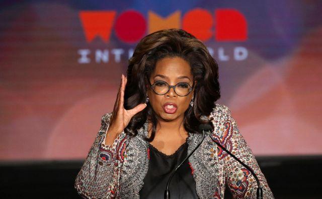 Oprah Winfrey je iz televizijskega šova ustvarila imperij. FOTO: Reuters