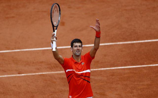 Novaka Đokovića v polfinalu čaka Dominic Thiem. FOTO: Reuters
