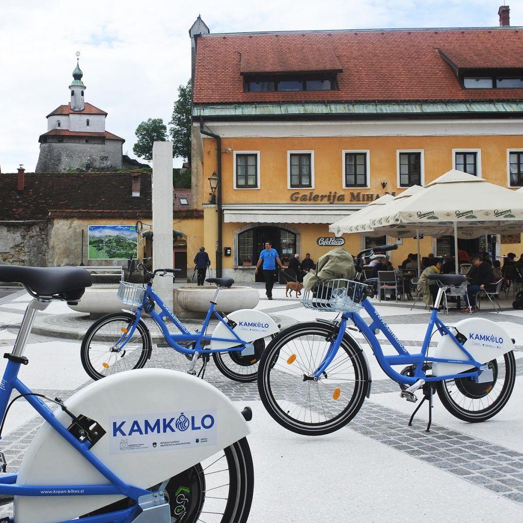 Električna kolesa na izposojo v Kamniku