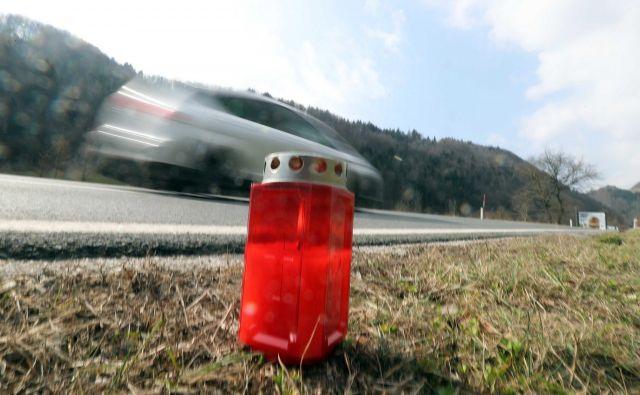 Hitrost ostaja najpogostejši vzrok prometnih nesreč. FOTO: Igor Mali