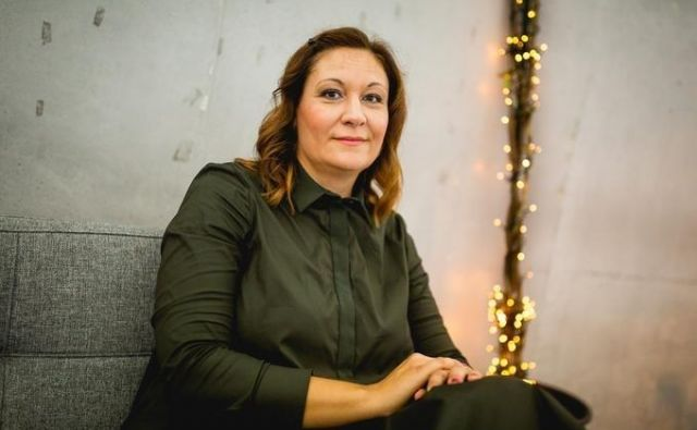 Katja Krasko Šteblaj, govornica na konferenci Diggit 08, tudi predavateljica na londonski šoli za odnose z javnostmi je izgorelost izkusila na svoji koži. Foto: Dokumentacija Dela