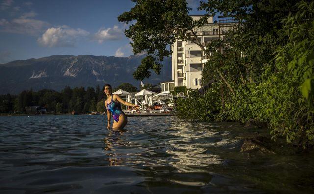 Slovenske kopalne vode so ustrezne, marsikje tudi odlične. FOTO: Voranc Vogel/Delo