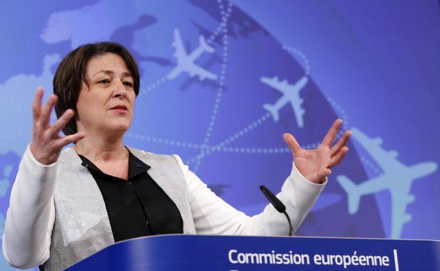 Komisarka Violeta Bulc svetuje Sloveniji, naj glede prihodnje evropske komisije razmišlja strateško. FOTO: François Lenoir/Reuters
