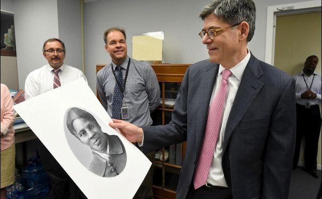 Finančni minister prejšnjega predsednika Baracka Obame je predlagal, da bi ovekovečili Harriet Tubman. FOTO: Reuters