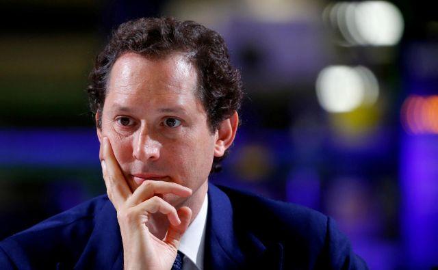 John Elkann, prvi mož FiatChryslerja, je sporočil, da njegovo podjetje umika ponudbo za združitev. FOTO: Reuters