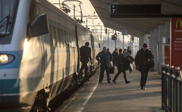 »Večkrat sem slovenske železnice že prosil in predlagal, naj bolje poskrbijo za obveščenost potnikov.« Foto Voranc Vogel
