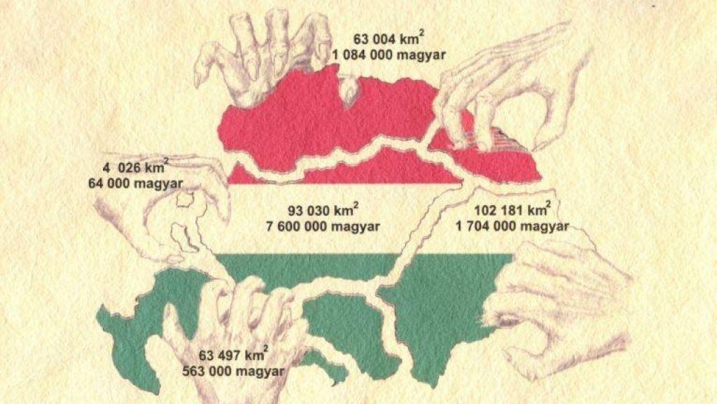 FOTO:Več poslancev ostrih do iredentističih zemljevidov, v SDS velike Madžarske ne komentirajo