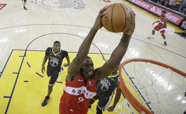 Pomembno vlogo v zmagi kanadske ekipe je imel tudi <strong>Serge Ibaka</strong>, ki je priigral 20 točk. FOTO: Reuters
