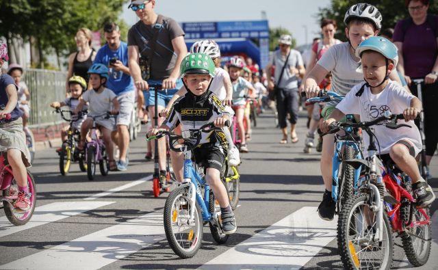 Maraton Franja, družinsko - šolski maraton. FOTO: Uroš Hočevar