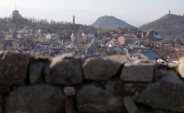 Stari del mesta Plovdiv, ki je letos razglašen za evropsko prestolnico kulture. FOTO: Stoyan Nenov Reuters