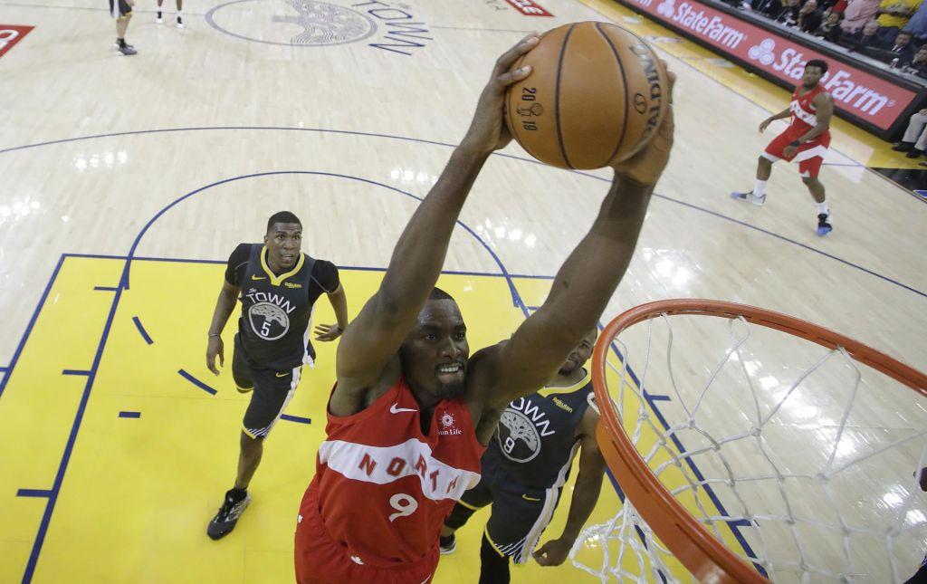 FOTO:V gosteh slavil Toronto, ki je na pragu končne zmage v ligi NBA