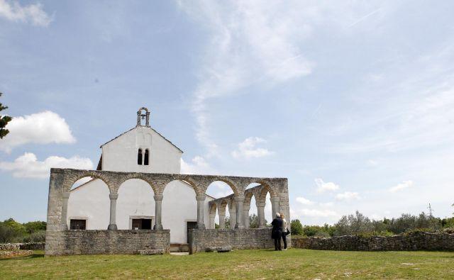 Sveta Fo�ka v Istri pri Vodnjanu.8.5.2019[Sveta Fo�ka.Vodnjan.cerkve.energije.čude�i] Foto Mavric