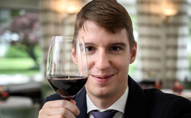 Najboljši sommelier na svetu Marc Almert z vinom nima prav dolge zgodovine. FOTO: Fabrice Coffrini/AFP