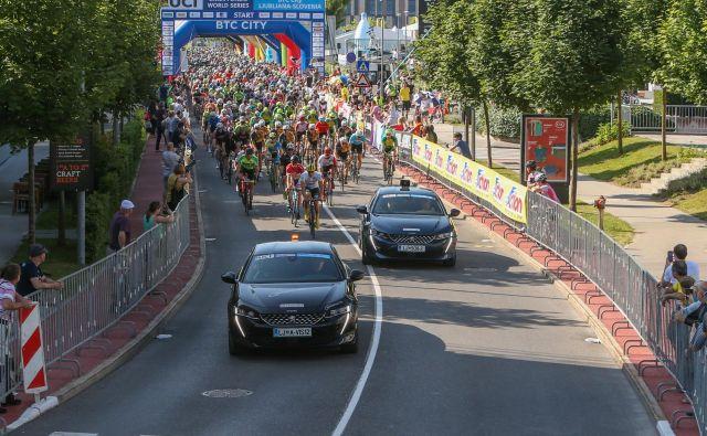 Na 38. Maratonu Franja BTC City je v treh dneh sodelovalo okoli 7100 kolesarjev. FOTO: Prijavim.se
